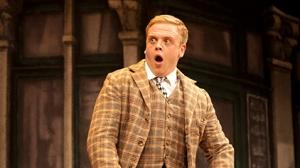 Owain Arthur in One Man, Two Guvnors