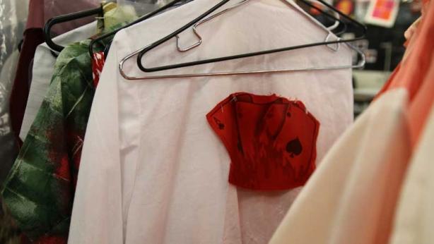 Behind-the-scenes in Wardrobe