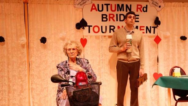 Minnie & Liraz on stage