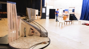 Buyer and Cellar in rehearsal