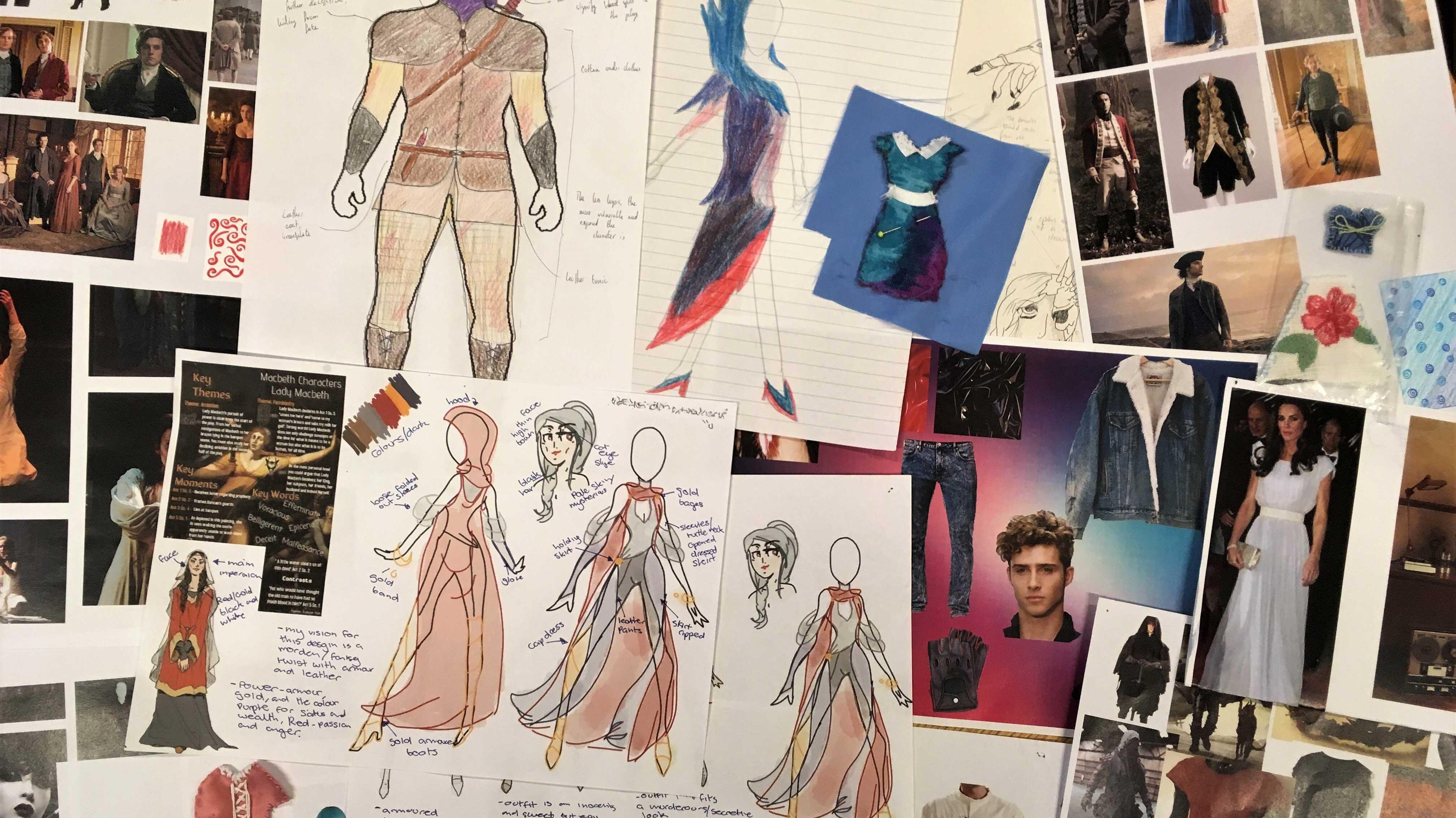 2017 Ambassadors Costume Design Concepts