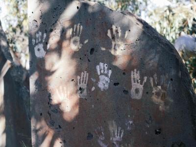 Week 2 - Botanic Gardens (Ochre Hands)