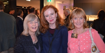 Alison Whyte with Susanna Mason and friend Pam