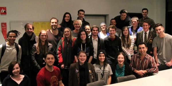 MTC Ambassadors with Macbeth cast