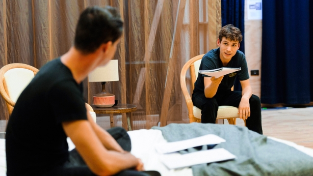 Toby Schmitz and Nicholas Denton