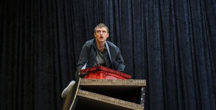 Darcy Brown in rehearsals