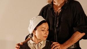 Anita Hegh and David Wenham in The Crucible