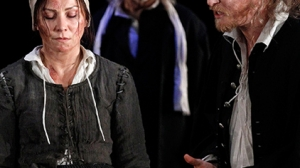 Anita Hegh, Greg Stone and Grant Cartwright in The Crucible