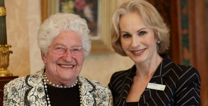 Betty Amsden AO and Jane Hansen