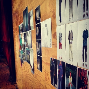 Rehearsal walls