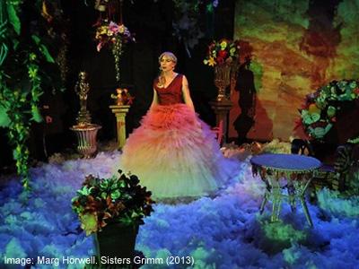 Olympia Bukkakis in 'Summertime in the Garden of Eden' (Sisters Grimm, 2013)