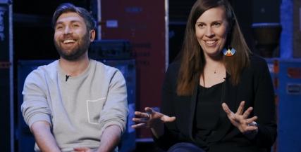 Video | Stephen Nicolazzo & Katherine Tonkin on Abigail's Party