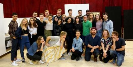 Vivid White cast with VCA Ensemble