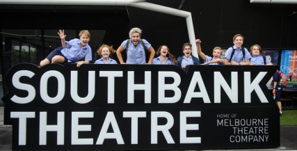 Students at Southbank Theatre