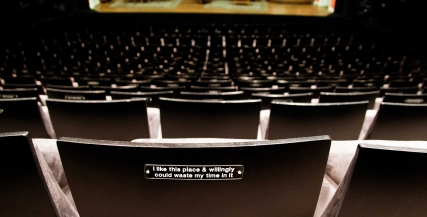 Seat Plaques in the Sumner Theatre