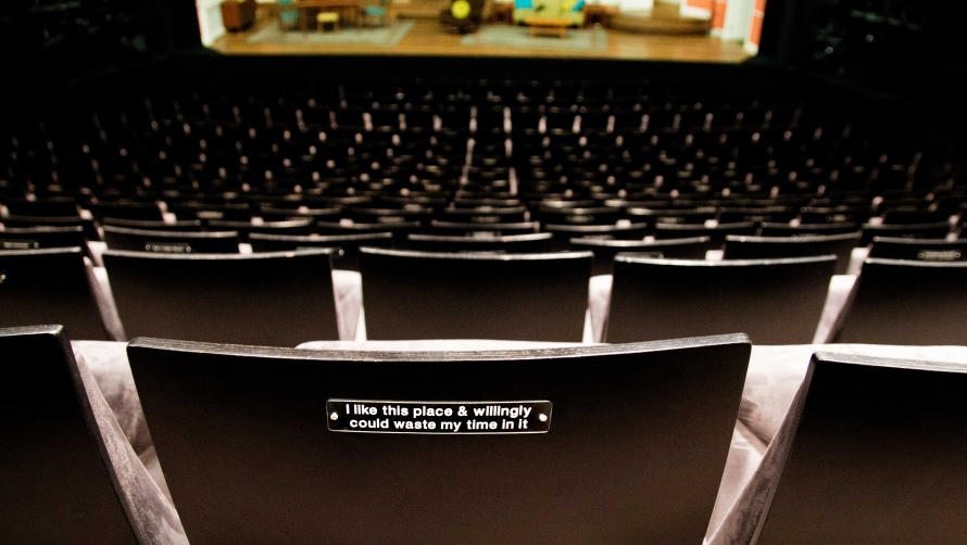 Seat Plaques in the Sumner Theatre