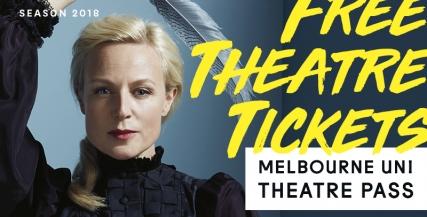 Melbourne Uni Theatre Pass 2018