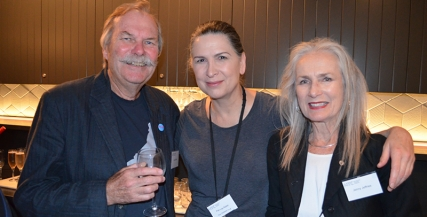 Jock Jeffries, Pamela Rabe, and Jenny Jeffries