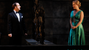John Leary and Lucy Durack in 'Private Lives'