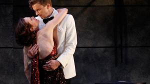 Nadine Garner and Leon Ford in 'Private Lives'