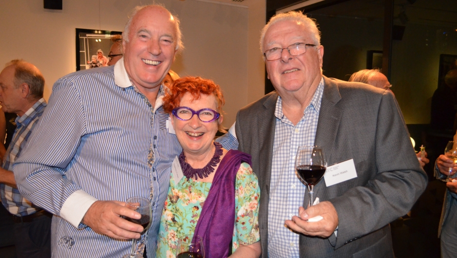 Mark Davey, Rosemary Forbes, Kevin Walsh