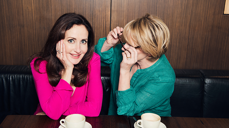Marina Prior and Jane Turner. Photo by Jo Duck.