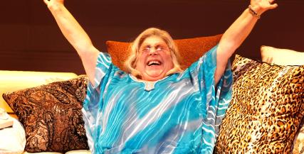 Miriam Margolyes in 'I'll Eat You Last' (MTC 2014)