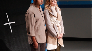 Bert LaBonte and Anna Samson in Birdland