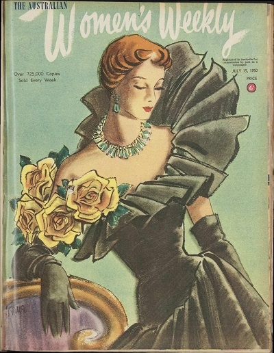 Women's Weekly Cover, 15 July 1950